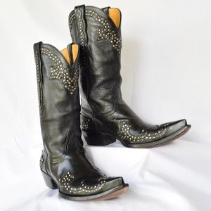 OLD GRINGO Clarita studded cowboy leather boots